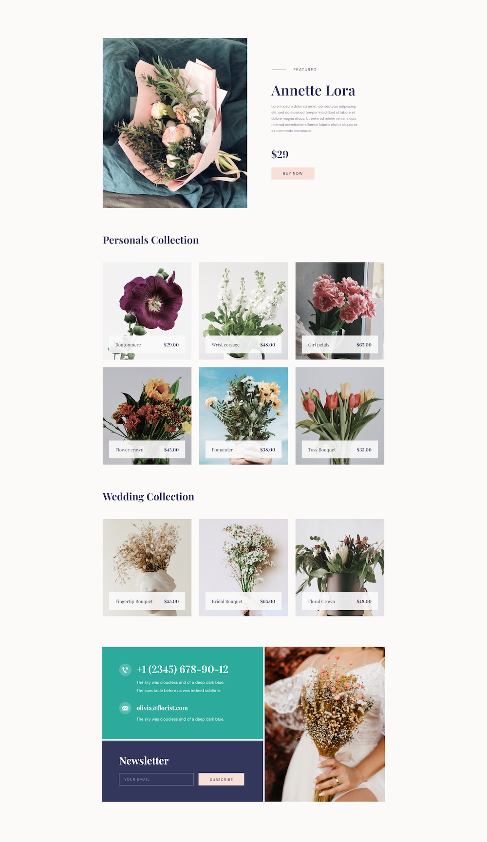 Florist Layout Bundle