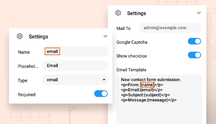T4 Joomla page builder form builder elements