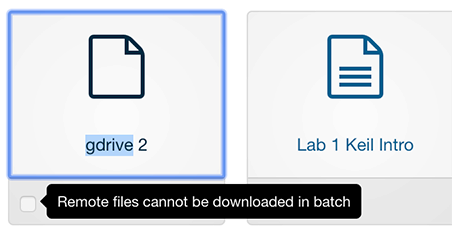 Download selected documents