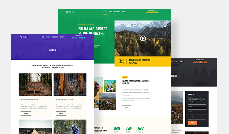 joomla page builder template for nonporfit