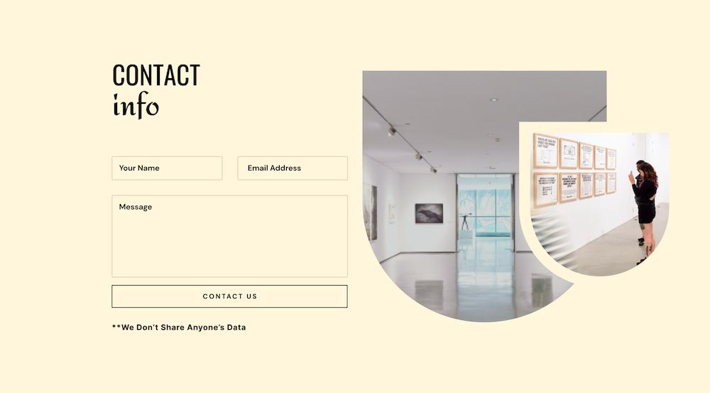 Art Gallery Layout Bundle
