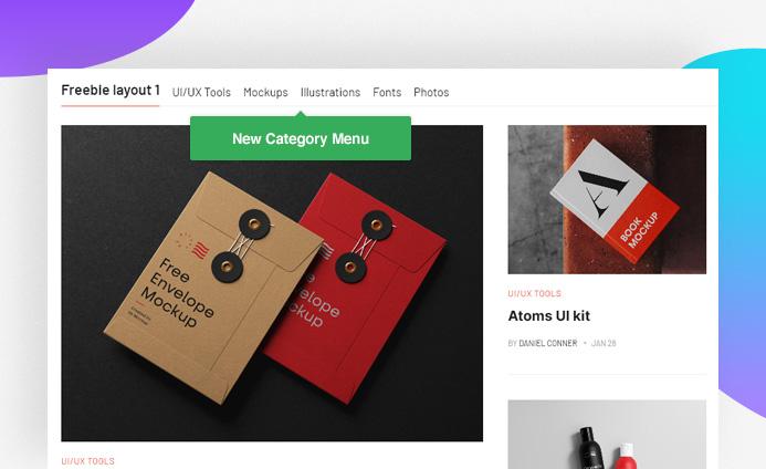 JA Content listing Joomla article display category menu