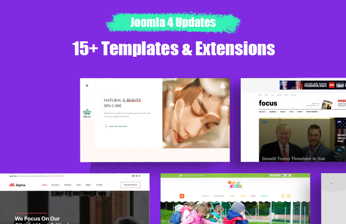 joomla 4 templates update