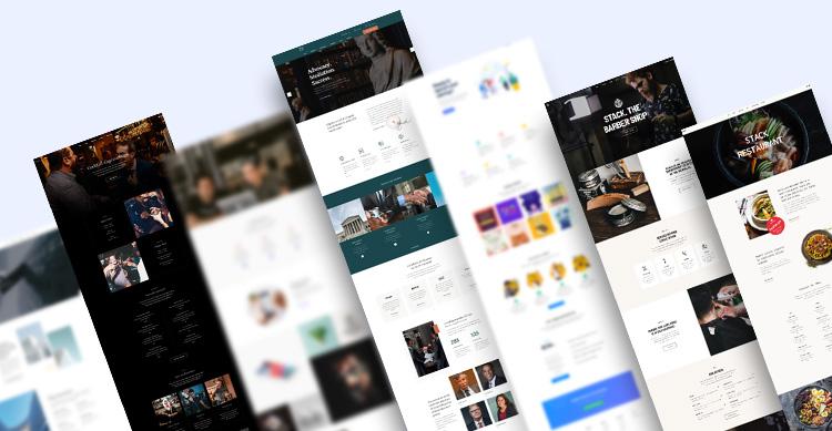 joomla page builder website bundle